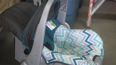 Car Seat Clinic In Uptown Butte Fire Station