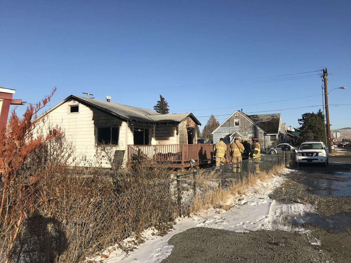 butte house fire