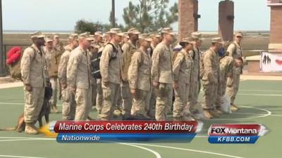 U.S. Marine Corps celebrates 240th birthday