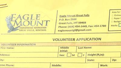 Eagle Mount volunteer application