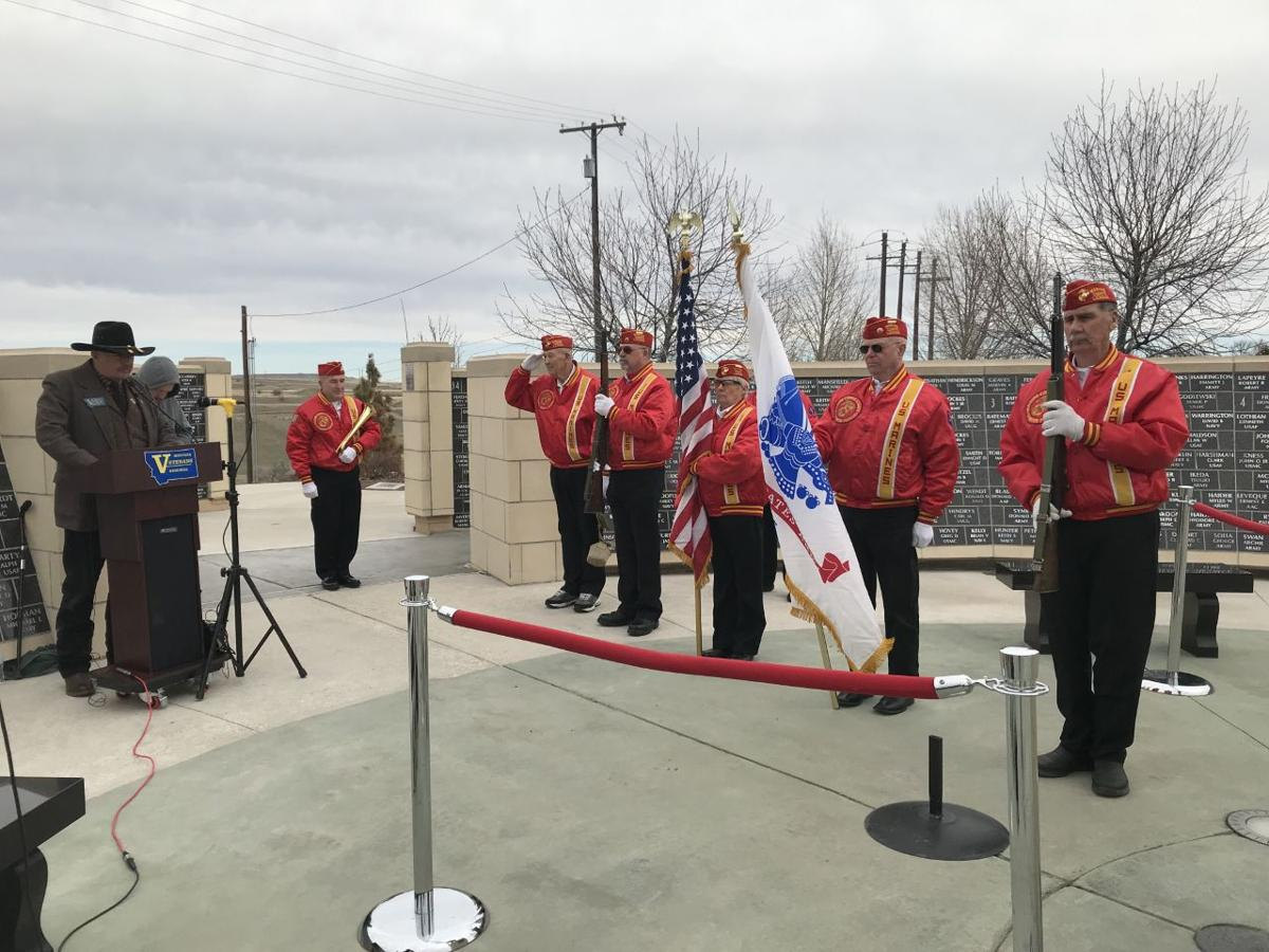 Great Falls Vets Celebrate Atkins' Medal of Honor