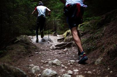 trail running exercise fitness outdoors healthy