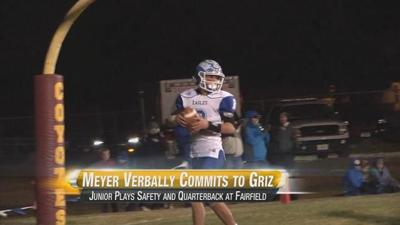 Fairfield's Meyer Commits to Play for Griz