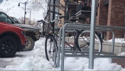 Bikes and Snow