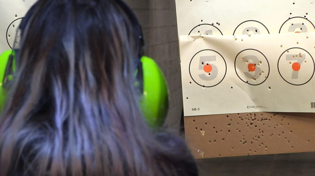Zero In target range