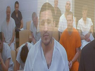 One of three accused Big Horn County Jail escapees appears in court