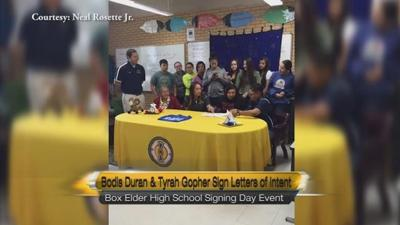 Two Box Elder Athletes Sign Letters of Intent