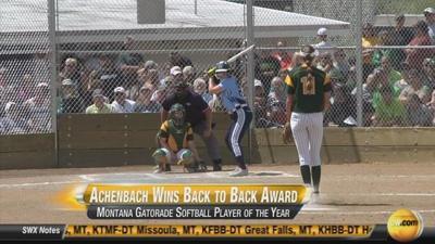 Tristin Achenbach Wins Gatorade Player of the Year