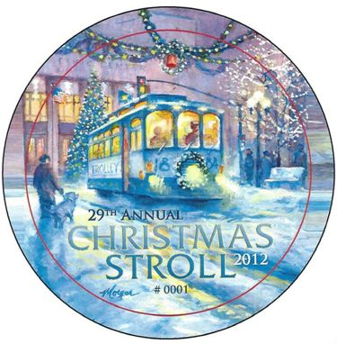 Call to Artists!  Submit Your Design for Christmas Stroll Button NOW!
