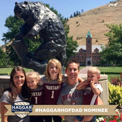 Brad Malloy Haggar Hall of Fame Dad