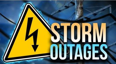 UPDATE: Strong rain and winds cause power outages