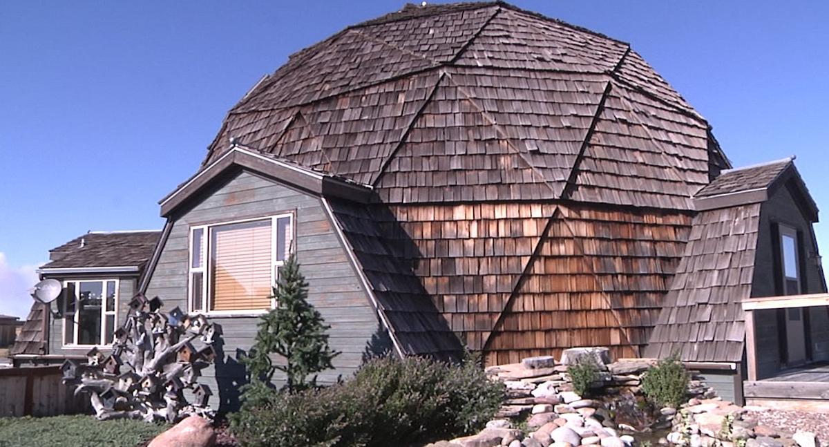 Cascade County homemade dome house