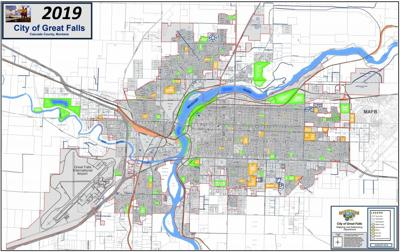 Great Falls base map