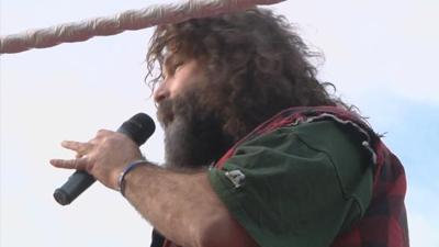 Mick Foley Visits Great Falls for Legends of the Falls Wrestling Event