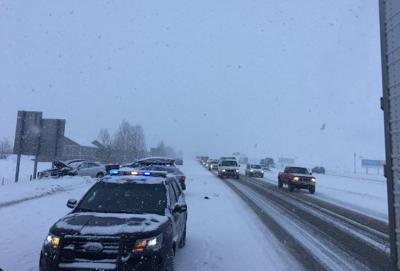 One person injured in 20-vehicle crash near Bozeman | ABC Fox