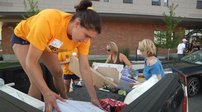 Montana State move-in day