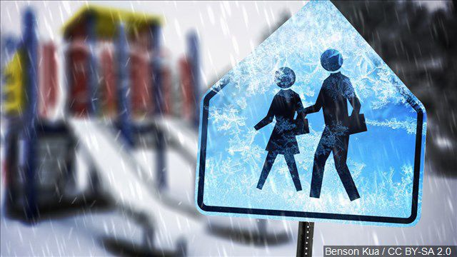 School snow closures