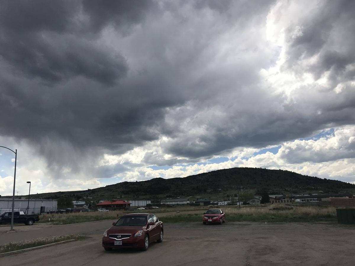 butte weather rolling in
