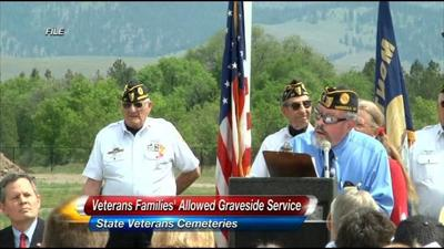 Graveside Services To Be Allowed At Veterans Cemeteries