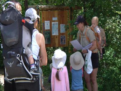 """Flathead Lake State Park holds """"Babies in Boots Hike"""""""