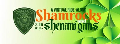 """Shamrocks and Shenanigans"": GFPD virtual ride-along via Facebook St. Patty's Day weekend"