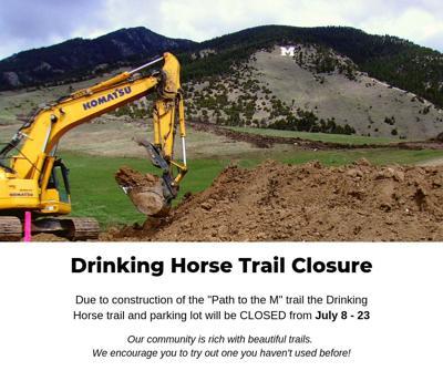 Trail closure for popular Bozeman trail