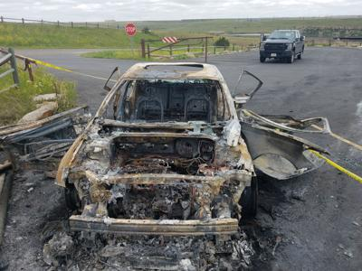 giant springs burned out car great falls