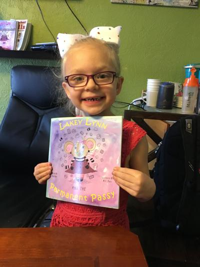Lakey Lynn and the Permanent Passy: Father & daughter write children's book