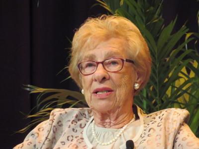 Montana State University to welcome Eva Schloss, the stepsister of Anne Frank Sunday, November 3, to Bozeman