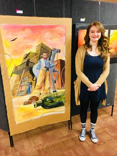 Central Montana high school students take Western Art Week