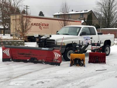 Cour d'Alene Teen Plows Seattle Streets