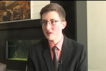 John Milton, Great Falls High Junior