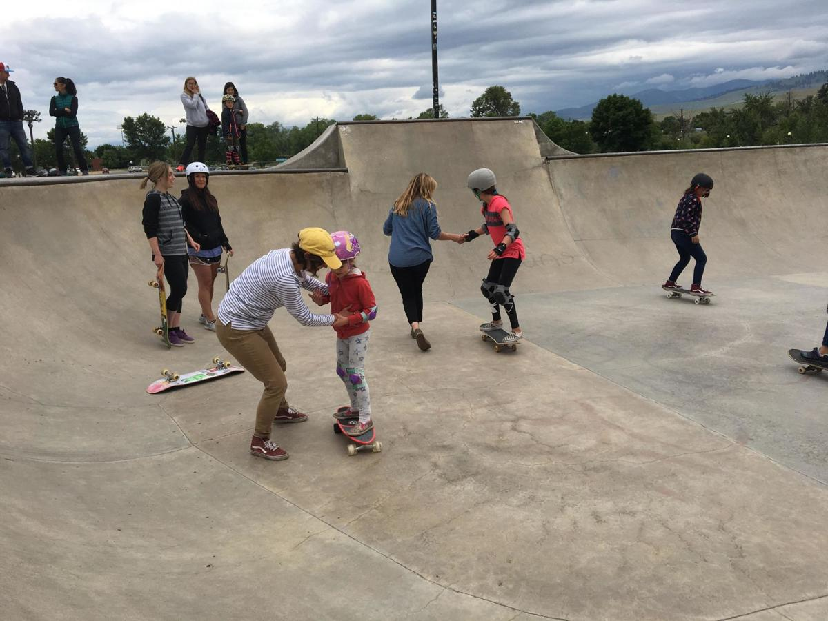 Empowering through skating