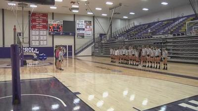 Carroll Volleyball Digging Deep Through Adversity