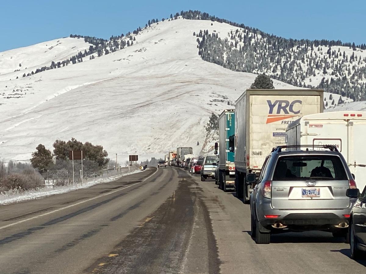 highway 93 traffic