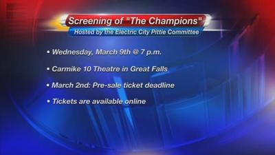 """Electric City Pittie Committee's screening of """"The Champions"""""""