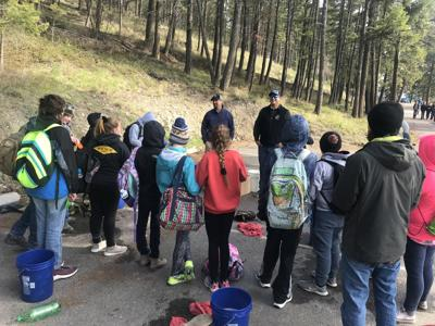 Middle school students dive into aquatic invasive education at Flathead Lake