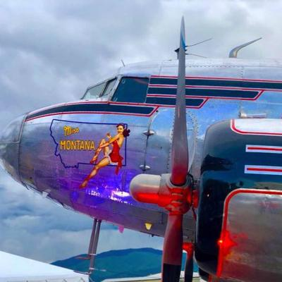 WWII plane from Missoula heading back to Normandy