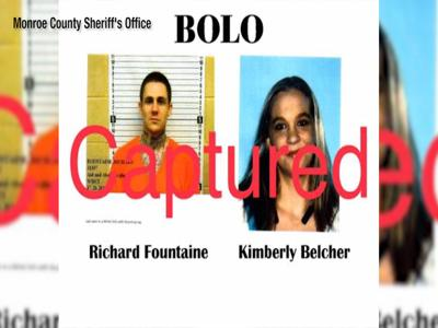 Wyoming fugitive captured in Georgia
