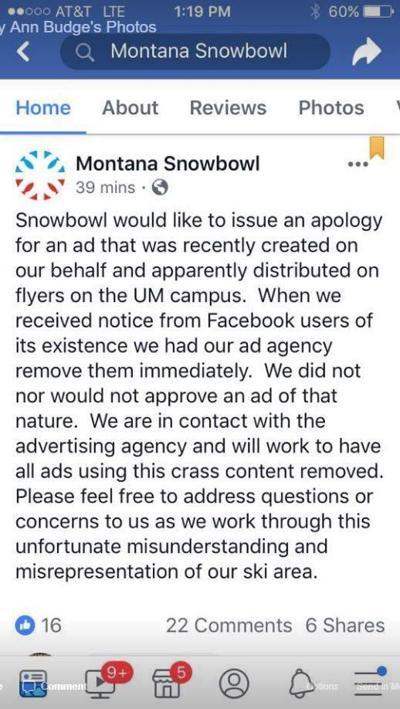 Montana ski hill apologizes for 'body fat' ad