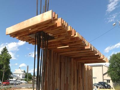 Building shade in Missoula