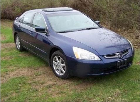 2003 blue Honda Accord