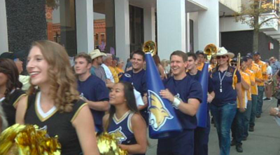 """Time to bring the """"Bobcat Buzz,"""" and welcome the cats back to Bozeman with the 10th annual Catwalk"""