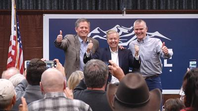 Sen. Lindsey Graham stumps for Rosendale in Bozeman