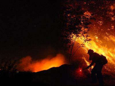 Crews battle 24-acre wildfire near Arlee