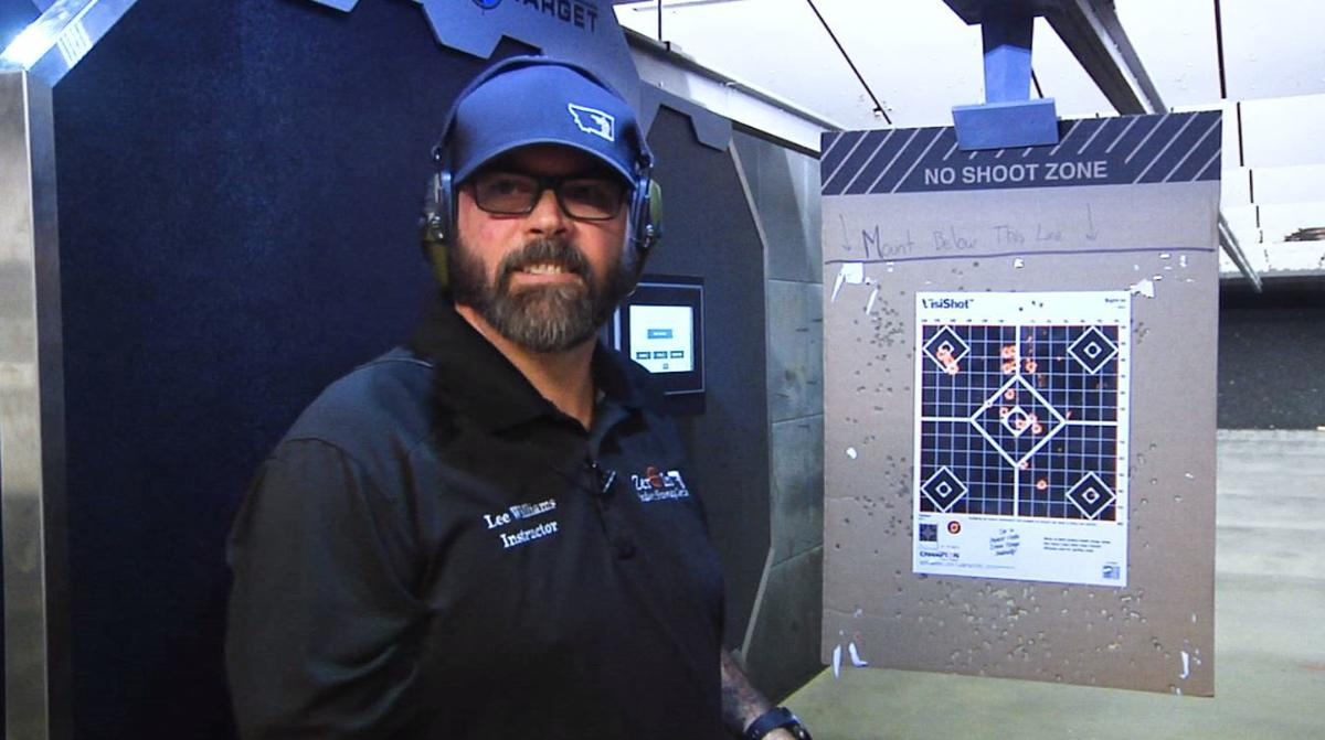 Zero In Shooting Range Lee Williams