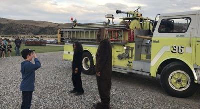 Bigfoot helps raise money for Montana firefighters