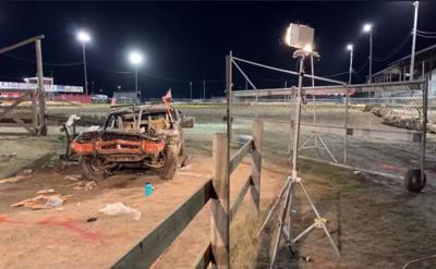 Demolition Derby Wreck Deer Lodge