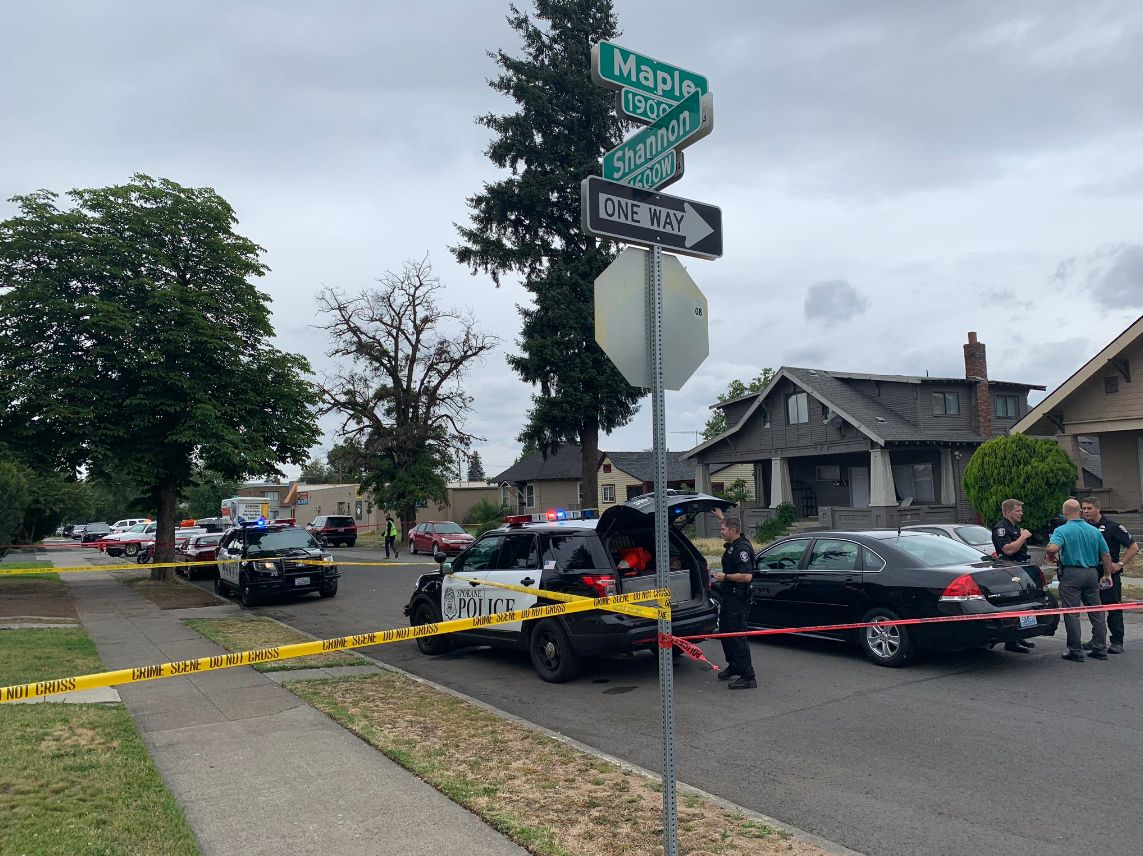 Police investigating after woman was found dead in northwest Spokane home