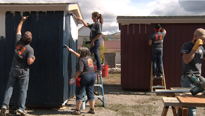 100+ volunteers log 400 services hours towards the Missoula community
